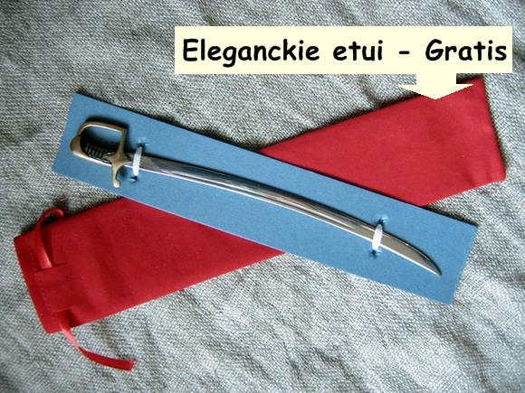 szabla nożyk na prezent
